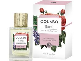COLABO FLORAL rose blackcurrant Eau de Parfum