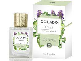 COLABO GREEN clary sage basil Eau de Parfum