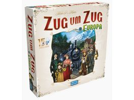 Days of Wonder Zug um Zug Europa 15 Jubilaeum DE