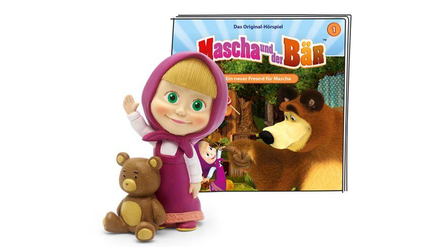 tonies - Hörfigur für die Toniebox: Mascha und der Bär: Ein neuer Freund für Mascha