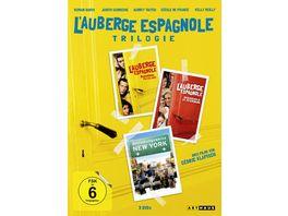 L Auberge espagnole Die Trilogie 3 DVDs