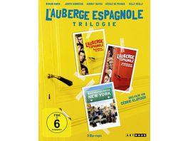 L Auberge espagnole Die Trilogie 3 BRs