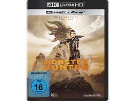 Monster Hunter Blu ray 2D