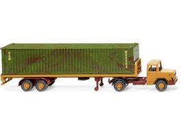 WIKING 055405 1 87 Flachpritschensattelzug Magirus Deutz