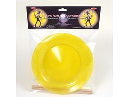ballaballa Jonglierteller Glitter Set gelb