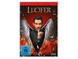 Lucifer Staffel 5 4 DVDs