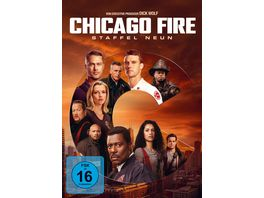 Chicago Fire Staffel 9 4 DVDs