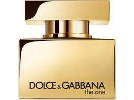 DOLCE GABBANA The One For Men Gold Eau de Parfum Intense