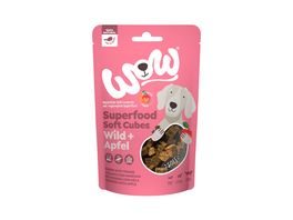 WOW Hundesnack Superfood Soft Cubes Wild