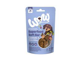 WOW Hundesnack Superfood Soft Bar Lamm