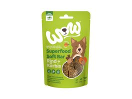 WOW Hundesnack Superfood Soft Bar Rind
