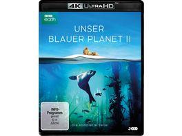 UNSER BLAUER PLANET II Die komplette ungekuerzte Serie zur ARD Reihe Der blaue Planet 4K Ultra HD9 3 BRs