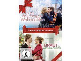 Ein Prinz zu Weihnachten Eine Braut zu Weihnachten 2 Movie XMAS Collection 2 DVDs
