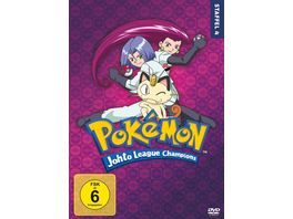 Pokemon Staffel 4 Die Johto Liga Champions 7 DVDs