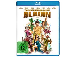Aladin Tausendundeiner lacht