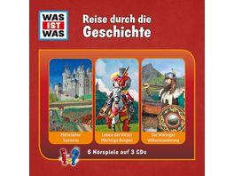 Was Ist Was 3 CD Hoerspielbox Vol 12 Geschichte