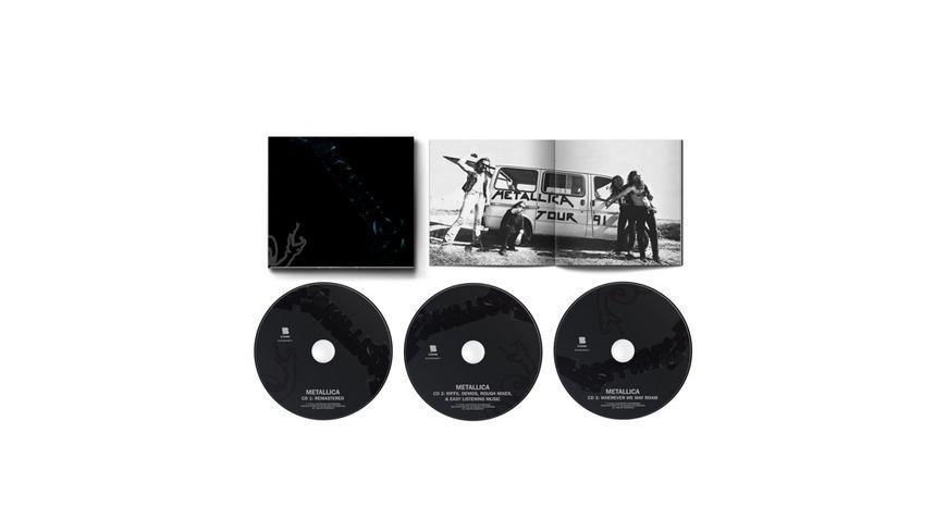METALLICA (REMASTERED 3CD BOX SET) (LTD. EDT.)