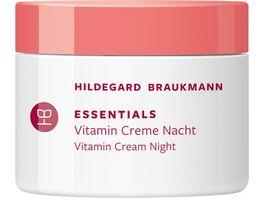 HILDEGARD BRAUKMANN ESSENTIALS Vitamin Creme Nacht