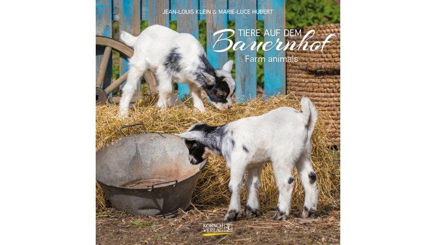 Bildwandkalender Tiere auf dem Bauernhof 2022