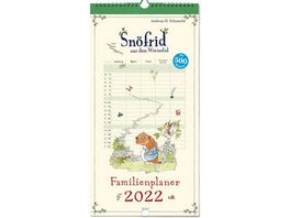 Schmachtl AndreasH Snoefrid aus dem Wiesental Familienplaner 2022