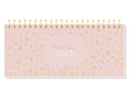 GRAFiK WERKSTATT Premium Wochenplaner 2022 Glueck kommt in Wellen