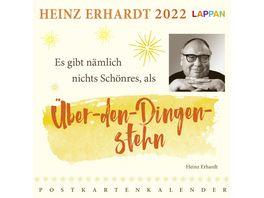 Heinz Erhardt Postkartenkalender 2022