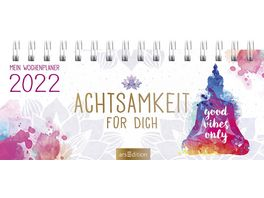 Mini Tischkalender Achtsamkeit fuer dich 2022