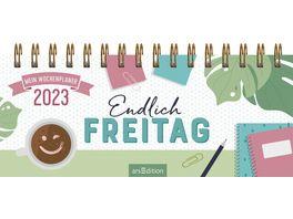 Mini Tischkalender Endlich Freitag 2022
