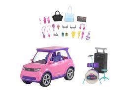 Barbie Big City Big Dreams Verwandelbares Fahrzeug Spielset