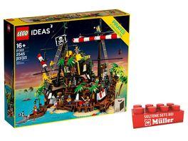 LEGO Ideas 21322 Piraten der Barracuda Bucht