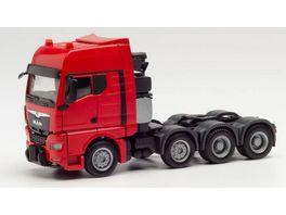 Herpa 313520 MAN TGX GX Schwerlastzugmaschine rot