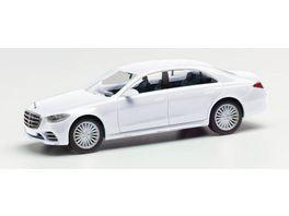Herpa 420907 Mercedes Benz S Klasse schwarz