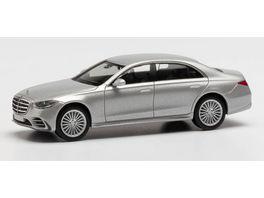 Herpa 430869 Mercedes Benz S Klasse irridiumsilber metallic