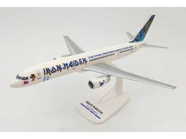 Herpa 613262 Iron Maiden Astraeus Boeing 757 200 Ed Force One The Final Frontier World Tour 2011 G STRX