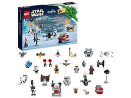 LEGO Star Wars 75307 Adventskalender Weihnachtsspielzeug fuer Kinder
