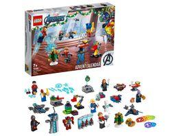 LEGO Marvel 76196 Avengers Adventskalender Spielzeug Set fuer Kinder ab 7