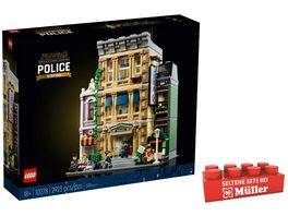 LEGO Creator Expert 10278 Polizeistation grosses Bauset fuer Erwachsene