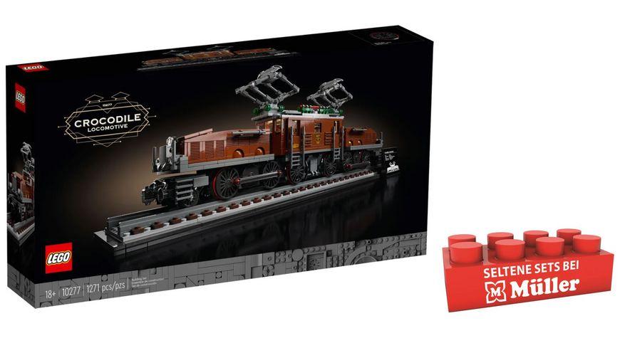 "LEGO Creator Expert 10277 - Lokomotive ""Krokodil"""
