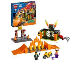 LEGO City Stuntz 60293 Stunt Park Motorrad Spielzeug Geschenkidee