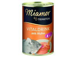 Miamor Katzensnack Trinkfein mit Huhn Sixpack