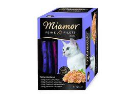 Miamor Katzennassfutter Feine Filets Mini Multibox Feine Auslese