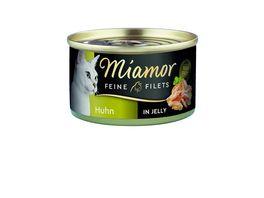 Miamor Katzennassfutter Feine Filets Huhn in Jelly