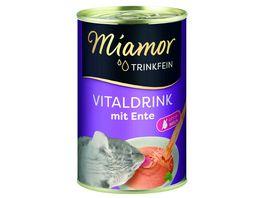 Miamor Katzensnack Trinkfein Vitaldrink mit Ente
