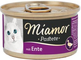 Miamor Katzennassfutter Pastete Ente