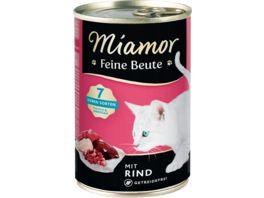 Miamor Katzennassfutter Feine Beute Rind