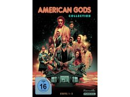 American Gods Collection Staffel 1 3 11 DVDs