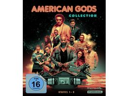 American Gods Collection Staffel 1 3 10 BRs