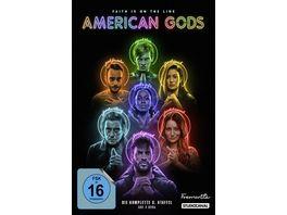American Gods 3 Staffel 4 DVDs