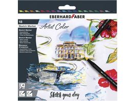 EBERHARD FABER Sketch Marker Artist Color 18er Set