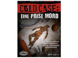 Thinkfun Cold Case Eine Prise Mord Der zweite Cold Case Krimi im eigenen Heim Wer findet den Moerder Ein Raetsel Spiel fuer Einen oder in der Gruppe
